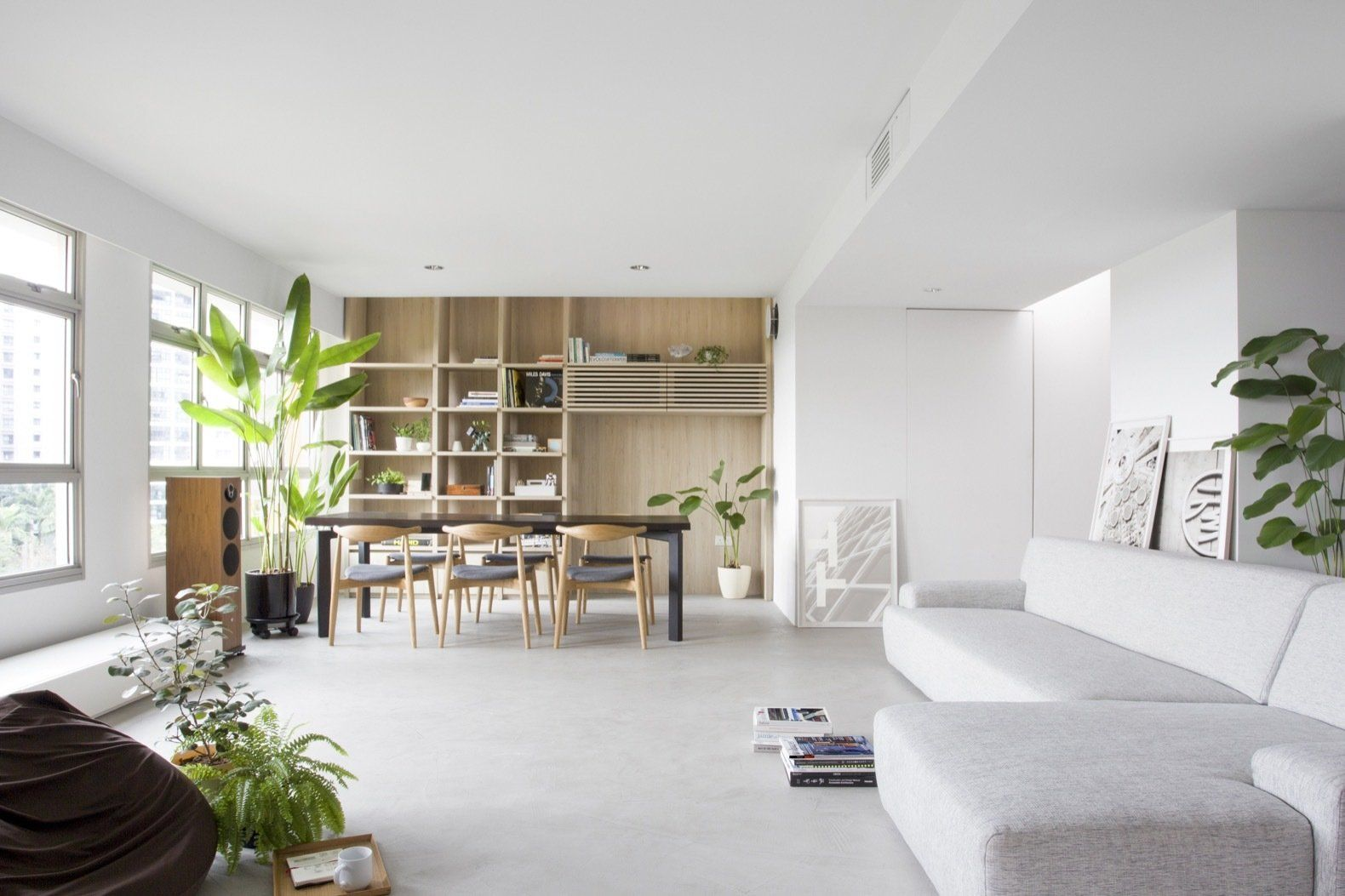 A Japanese Inspired Flat In Singapore Embraces Flexible Spaces