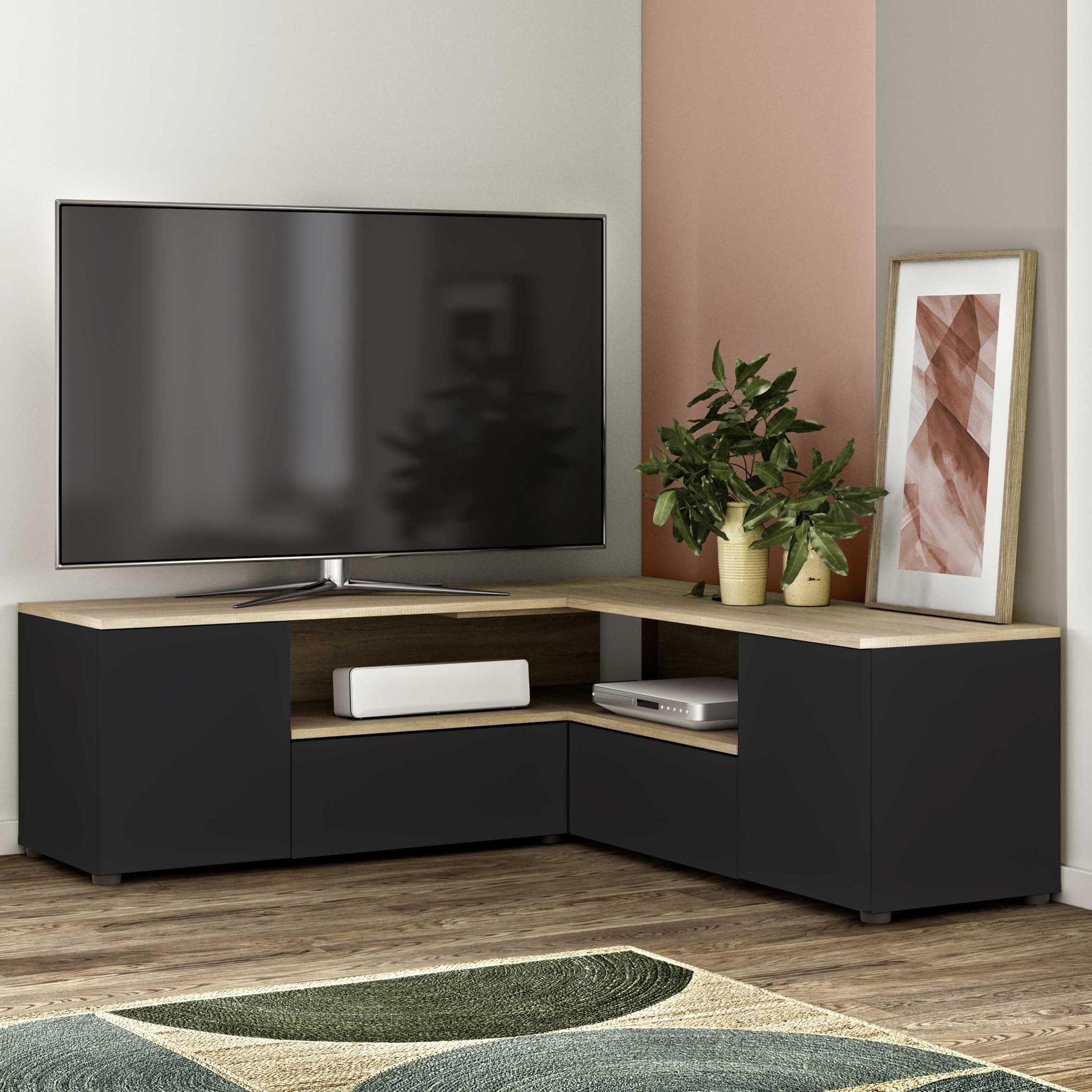 Tv units Tv-units Tv wall units Minimalist living rooms Tv ...