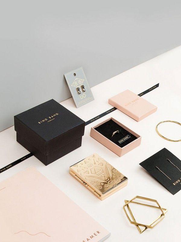 Bing Bang Jewelry branding and packaging design by Verena