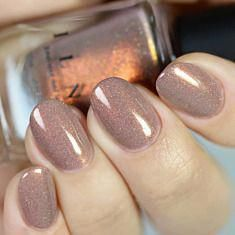 Quicksand – Refined Warm Taupe Holographic Nail Polish by ILNP