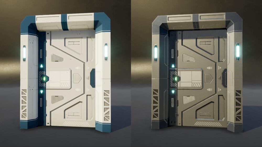 Sci Fi Door Google Search Space Decor Locker Storage Single Doors