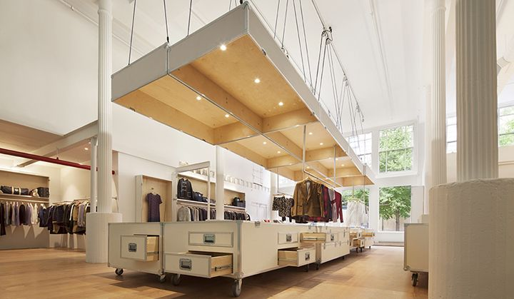 Band of Outsiders store by LOT-EK, New York City – US » Retail Design Blog