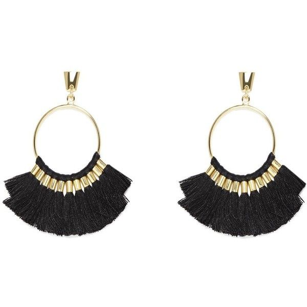 Vince Camuto Multi Tassel Hoop Earrings 1 740 Dop Liked On
