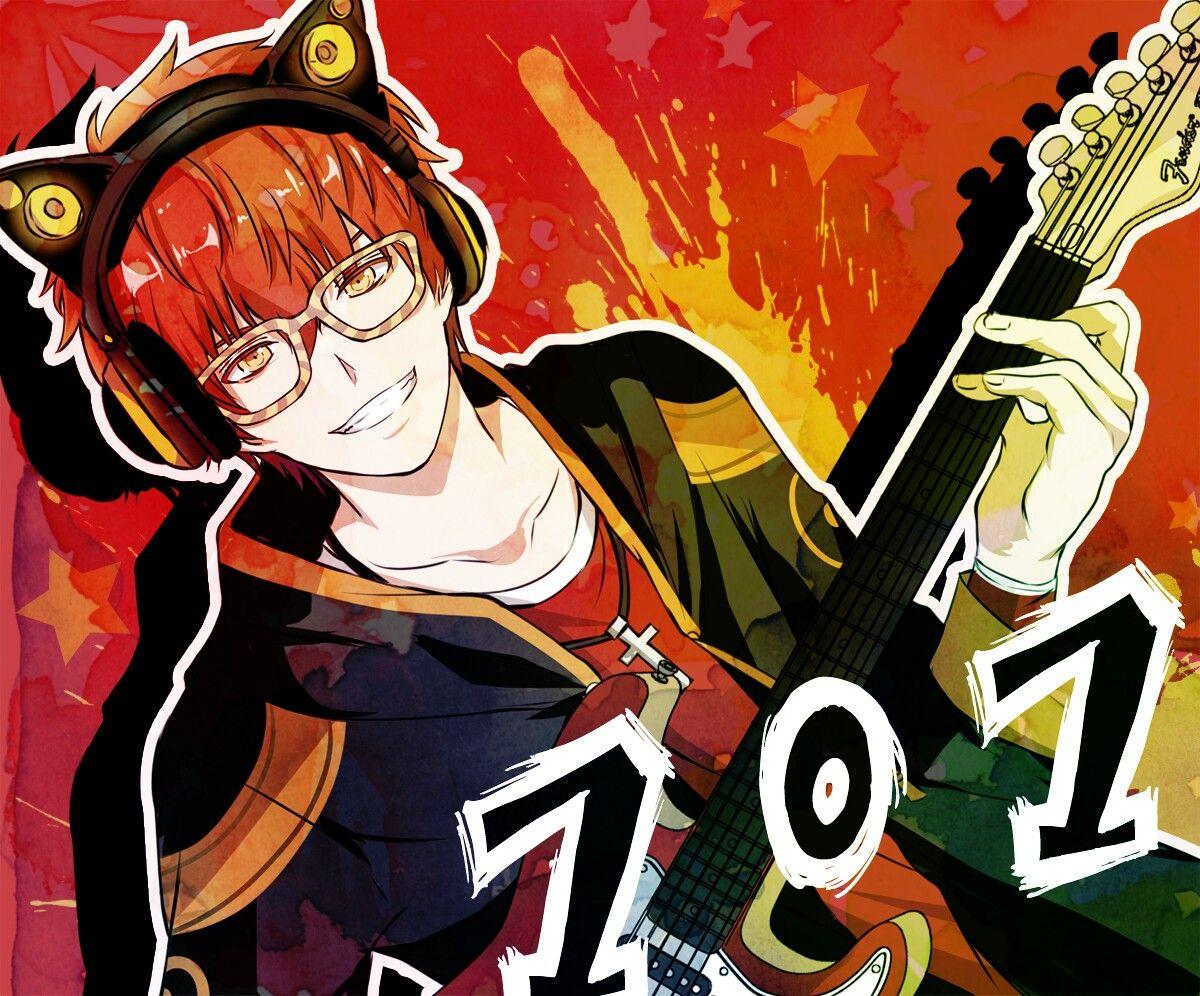 With my jam~ ( ̄▽ ̄) | 707 | Mystic Messenger