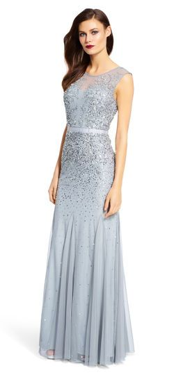Light Blue Bridesmaid Dresses | Pinterest | Adrianna papell, Pretty ...