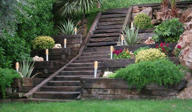 C mo dise ar un jard n con desniveles jardines for Como disenar un jardin exterior