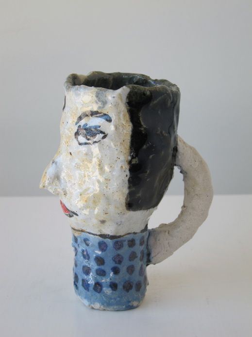 Magdalena Suarez Frimkess: Head Cup with Blue Polka Dots, 2014