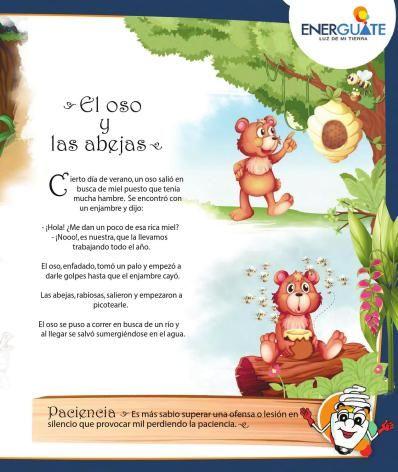 Las Fabulas Para Ninos Son Una De Las Principales Herramientas En La Educacion Y La Poemas Infantiles Cuentos Infantiles Para Leer Cuentos Cortos Para Imprimir