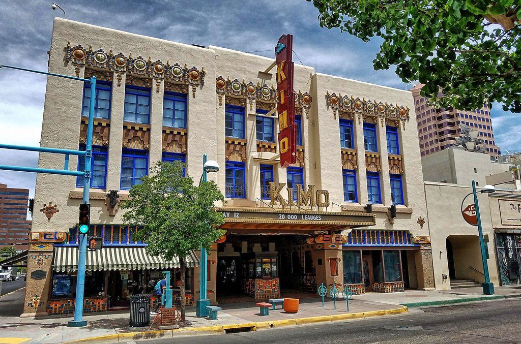 Kimo Theatre Albuquerque Nm 1 Building Art Deco Architecture Architecture