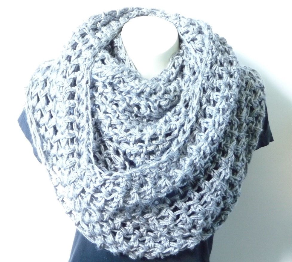 Nice Infinity Circle Scarf Crochet Pattern Ensign - Easy Scarf ...