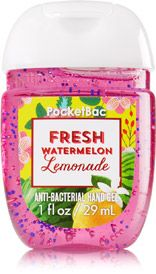 Fresh Watermelon Lemonade Pocketbac Sanitizing Hand Gel Soap