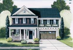 Traditional House Plan 4 Bedrooms 2 Bath 2073 Sq Ft Plan 23 570