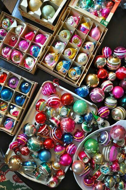 Treasure Christmas Vintage Christmas Ornaments Vintage