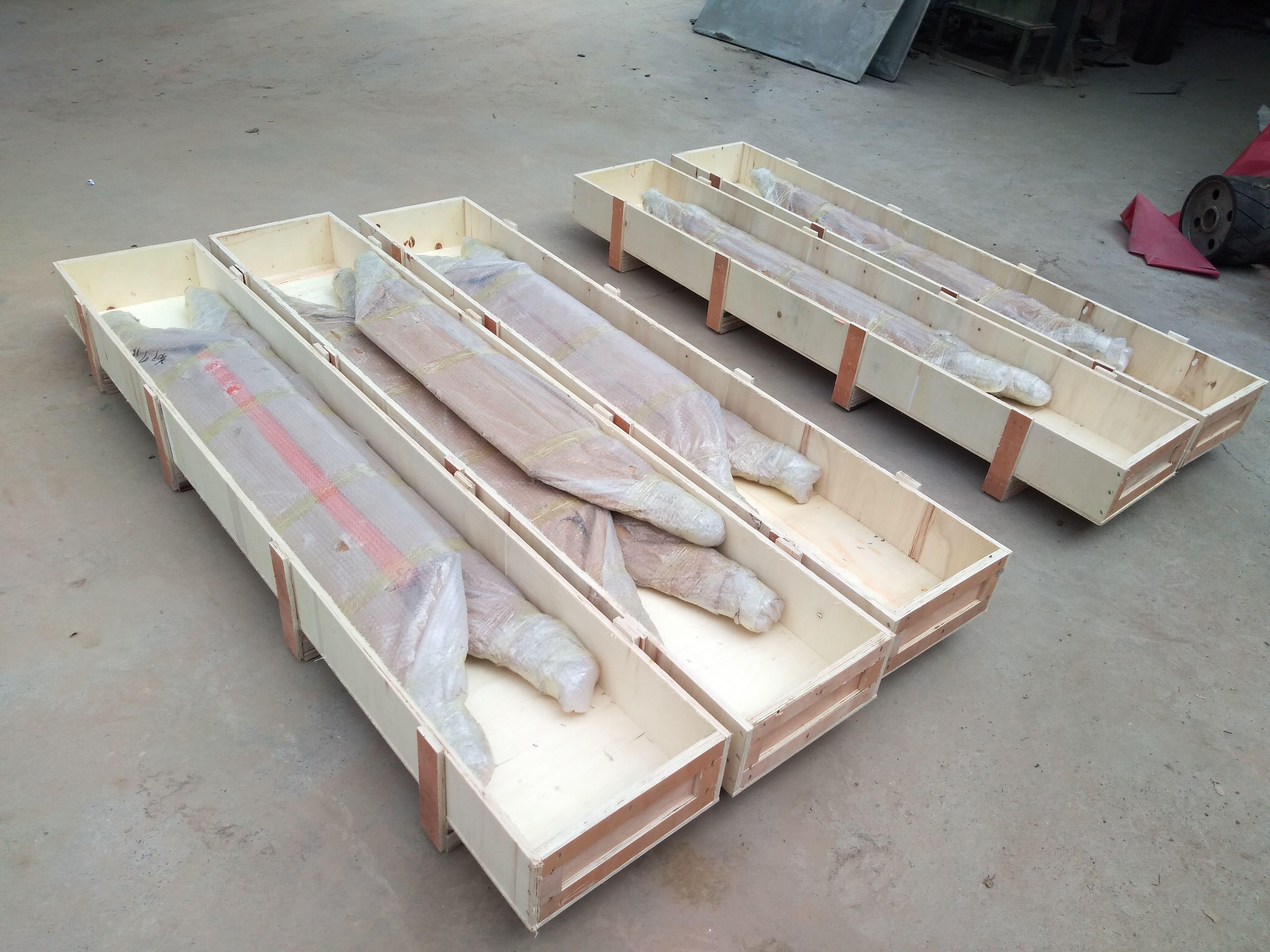Std Package Of Conveyor Belt Cleaner Conveyor Belt Wood Belt