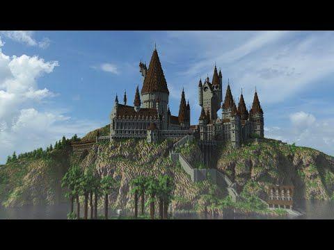 Hogwarts In Minecraft 3 Youtube Hogwarts Hogwarts Castle Minecraft