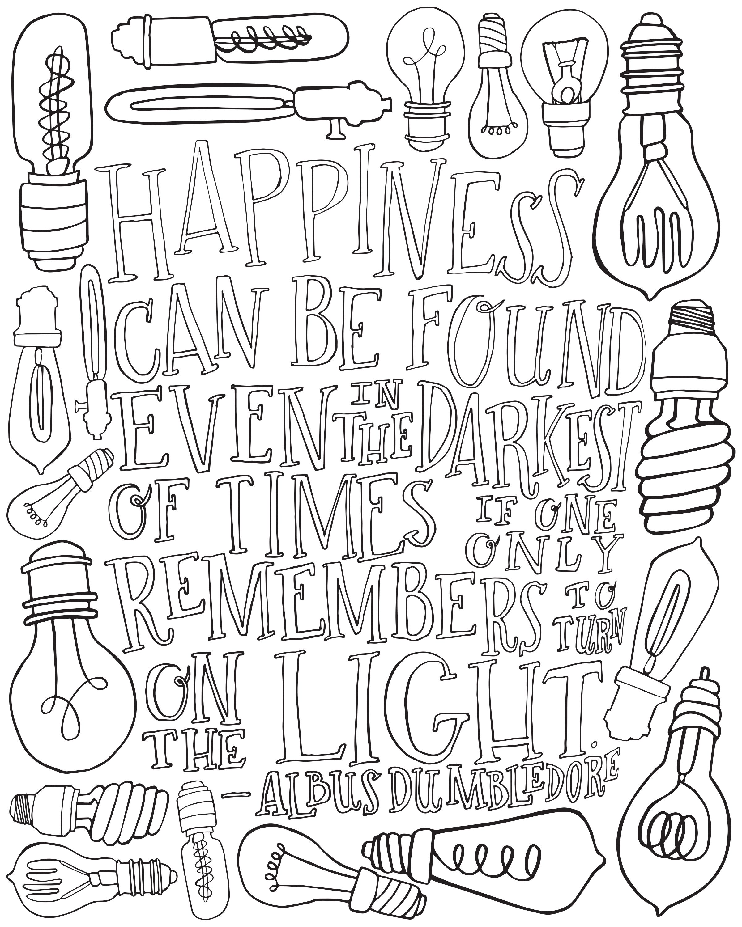 This Print Freebie Is Available On My Website It Features A Hand Drawn Quote From Harry Harry Potter Coloring Pages Quote Coloring Pages Harry Potter Colors