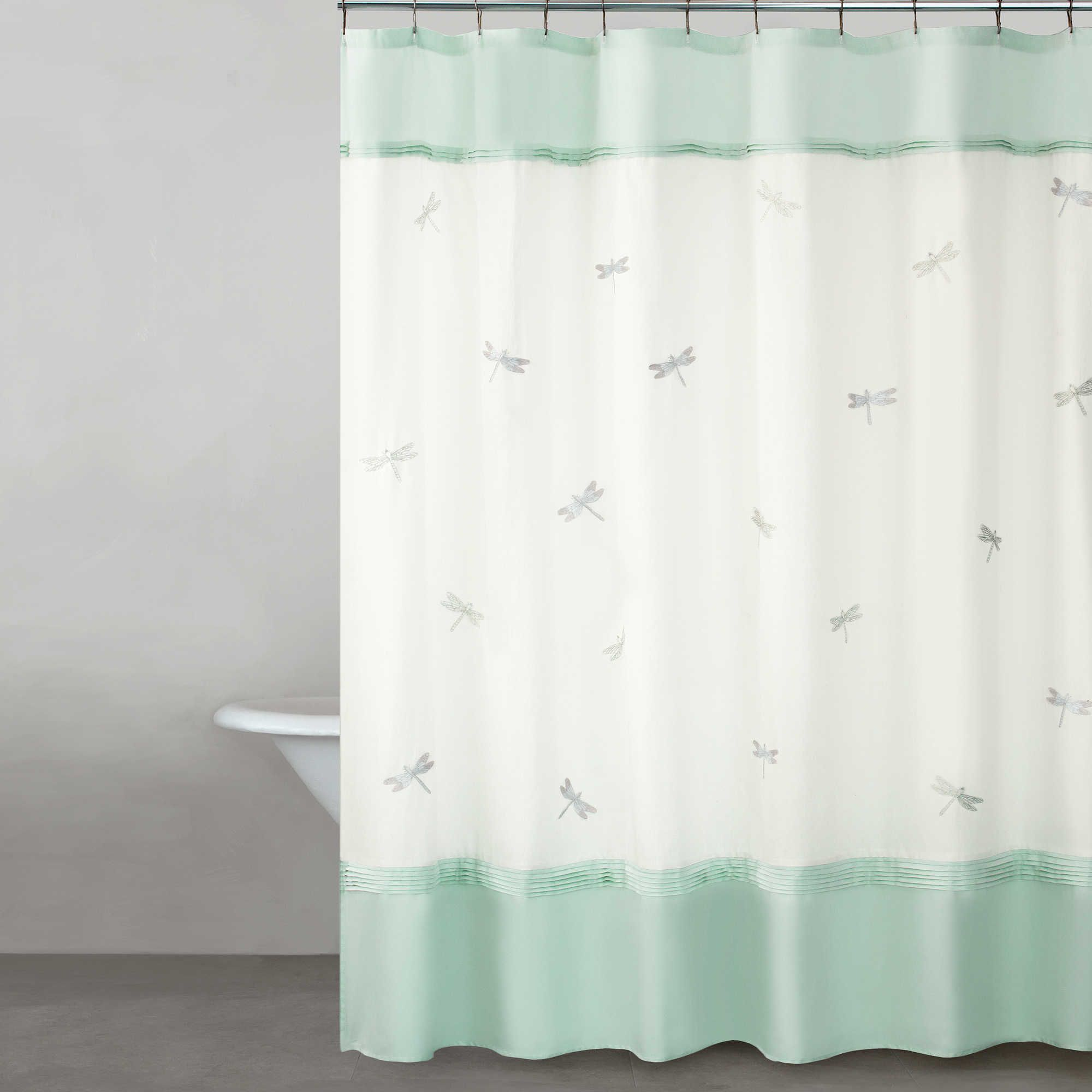 Kate Spade New York Dragonfly Drive 72 Striped Shower Curtains