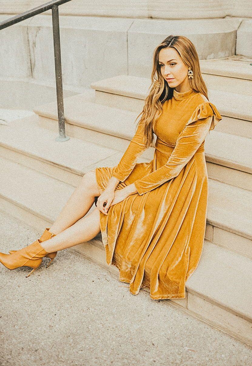 S Velvet Dress Fashion Dresses