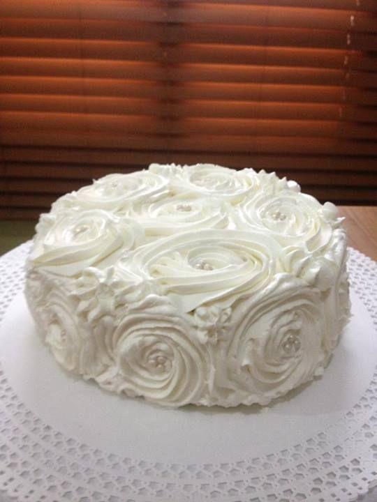 Cake con rosas!!1