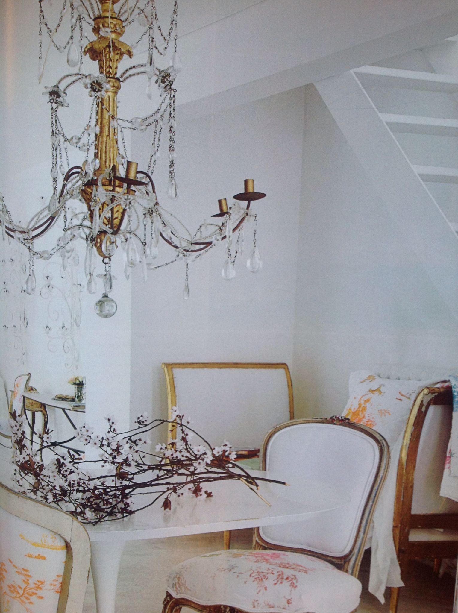 White ang gold (Elle interiör nr 10, 2008)