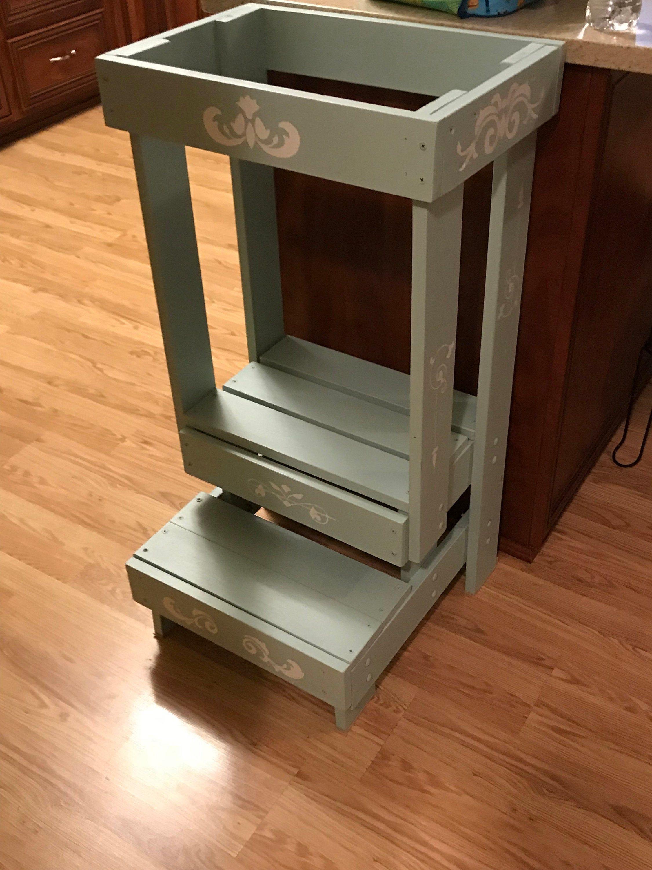 Safe Learning Tower plan/ DIY Montessori kitchen helper