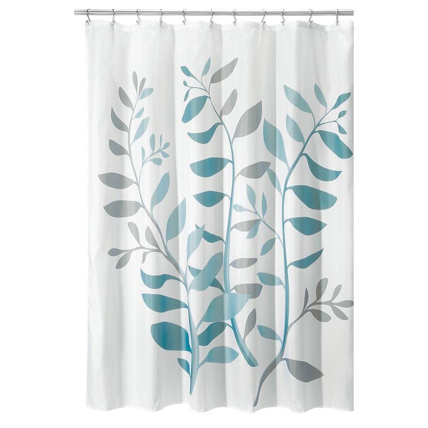 Interdesign Laurel Shower Curtain Kohls Blue Bathroom Decor