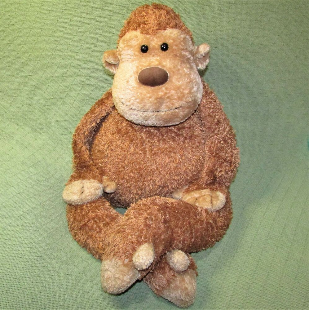 36 Jellycat Junglie Bunglie Marvin Monkey Large Stuffed Animal Chimp Tan Ape Jellycat Large Stuffed Animals Jellycat Stuffed Animals Tobago