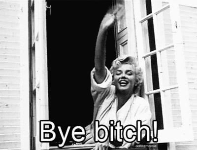 Marilyn Monroe. Ladies don't start fights but they can finish them