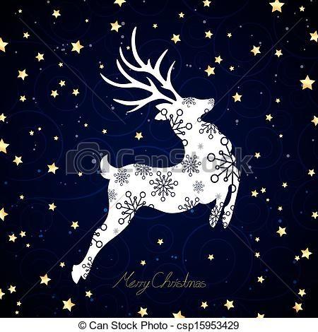 Reindeer Stock Illustration Images. 18,223 Reindeer illustrations ...
