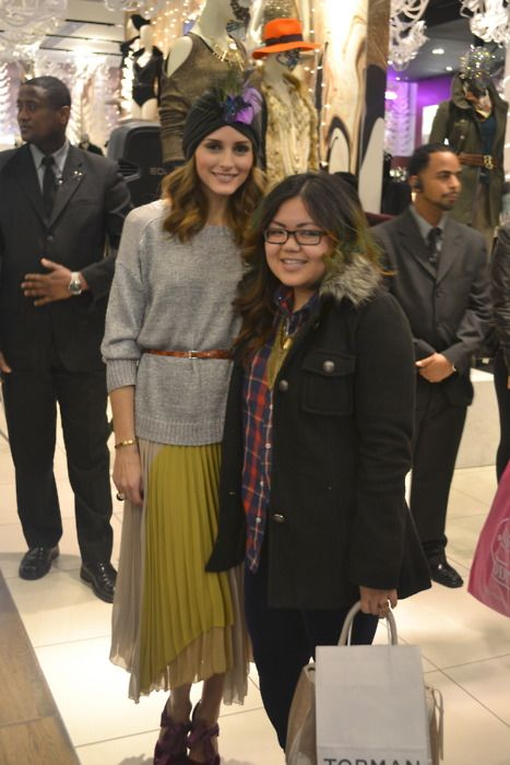 The Olivia Palermo Lookbook : Olivia Palermo At Topshop Holiday Styling in New York