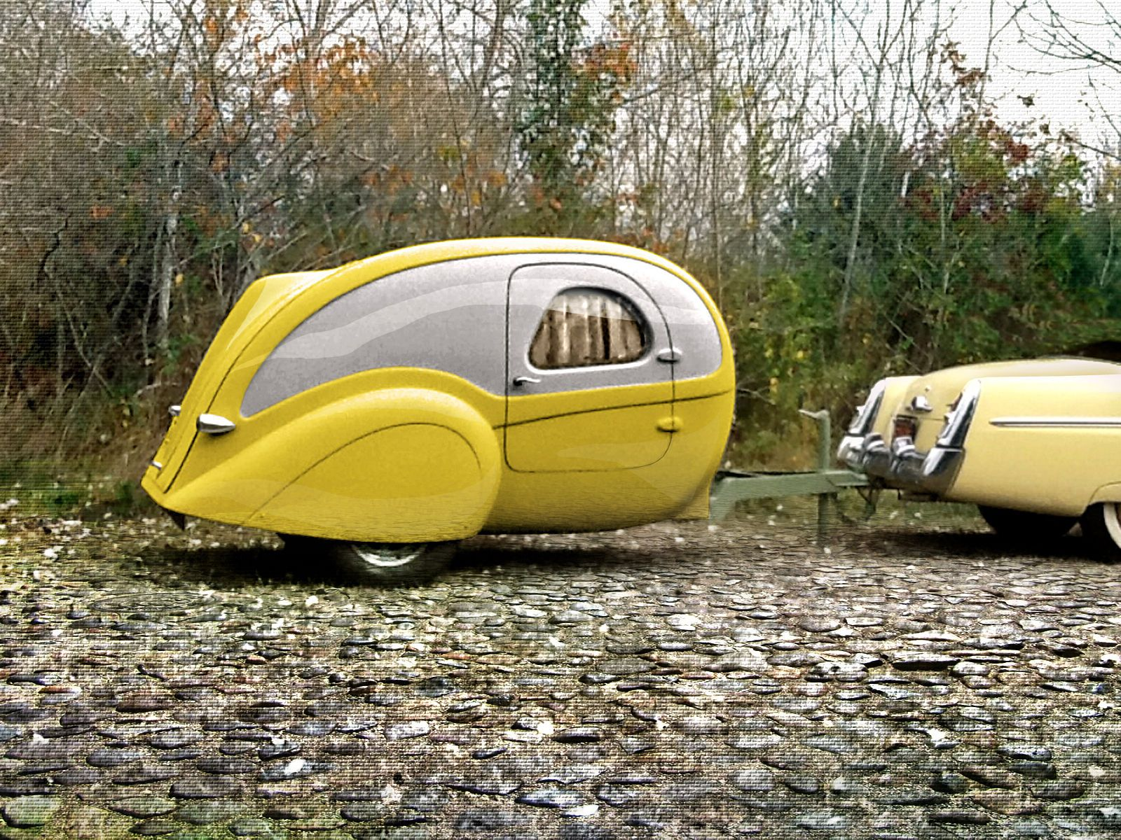 Posted in retro vintage tagged classic cars teardrop caravan vintage - Aerolux Teardrop Trailer 1940 S Styled Diy Kit Tow Behind 1946 Ford Rat Hot Rod