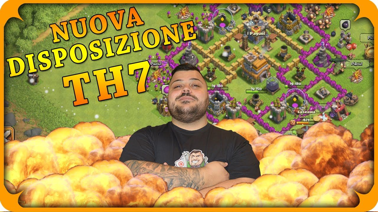 Clash Of Clans Nuova Disposizione TH7 Http