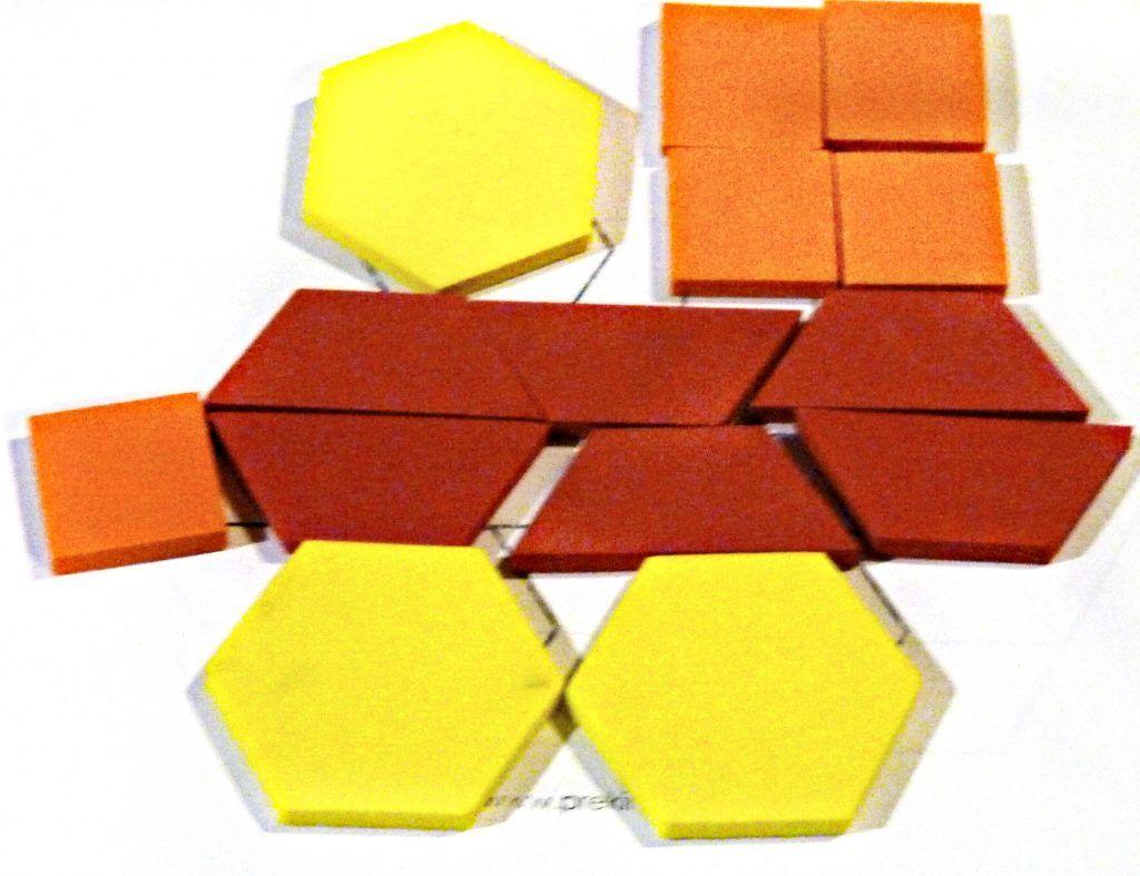 Transportation Pattern Blocks