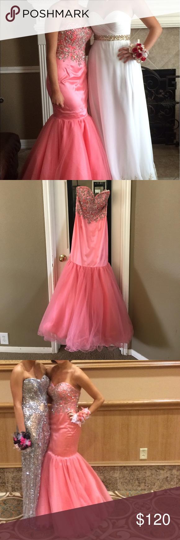 Coral prom dress disney dresses dress prom and prom