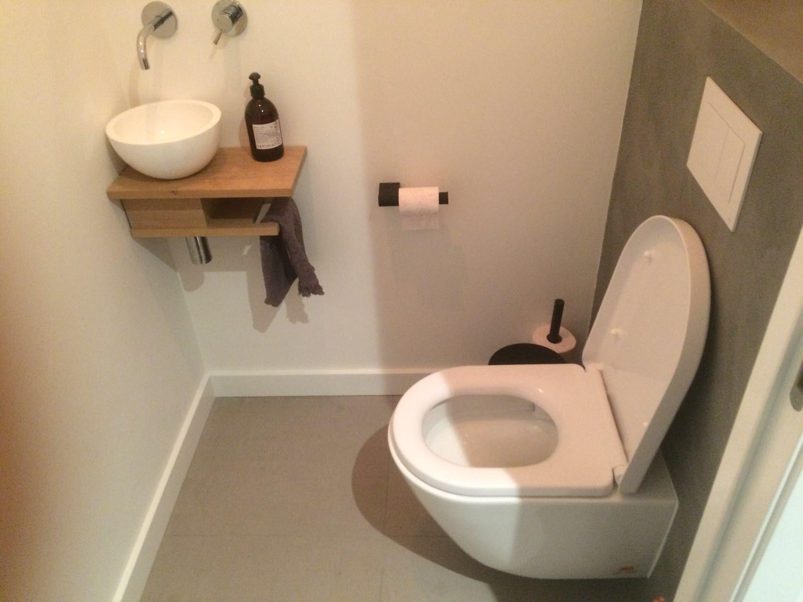 Toilet met beton ciré project c r zeist toilet