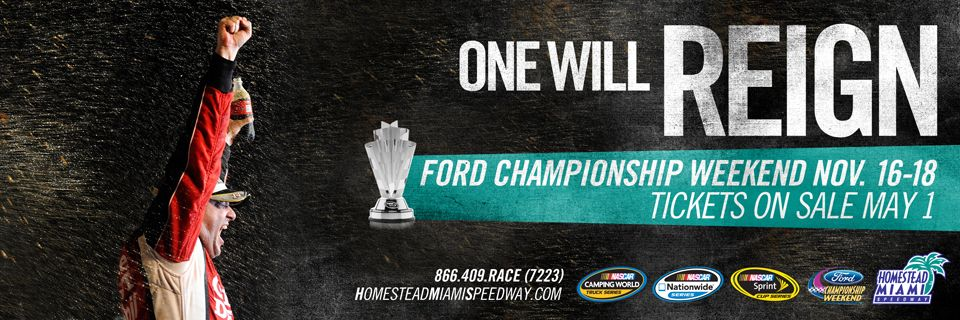 NASCAR Sprint Cup Series Championship at HomesteadMiami