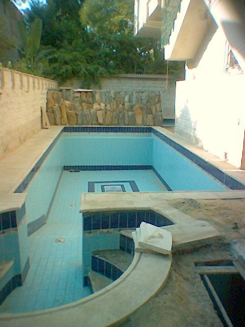 Ground Floor new never rent in DiglaW/ POOl