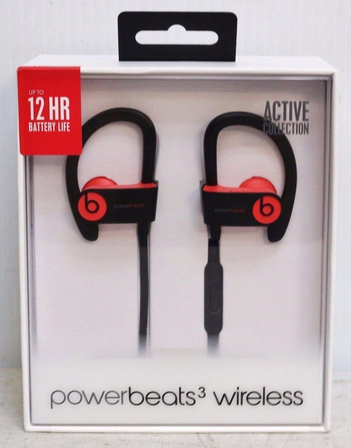 cbe30efed49 Beats by Dr. Dre Powerbeats 3 Active Wireless Headphones Siren Red NEW