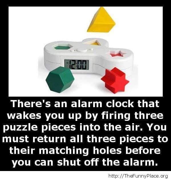 Funny alarm system