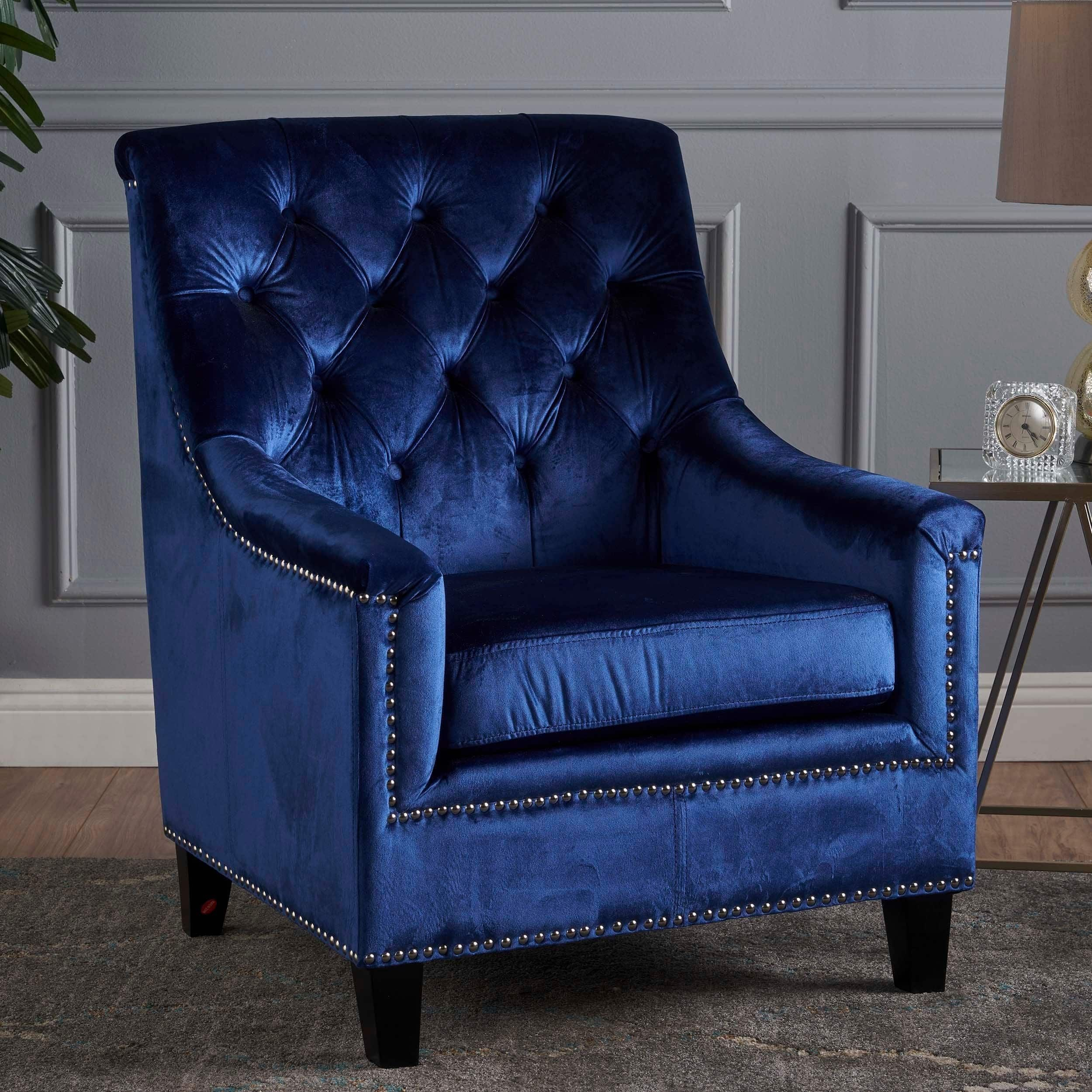 Bon Jaclyn Velvet Club Chair By Christopher Knight Home | Overstock.com  Shopping   The Best Deals On Living Room Chairs