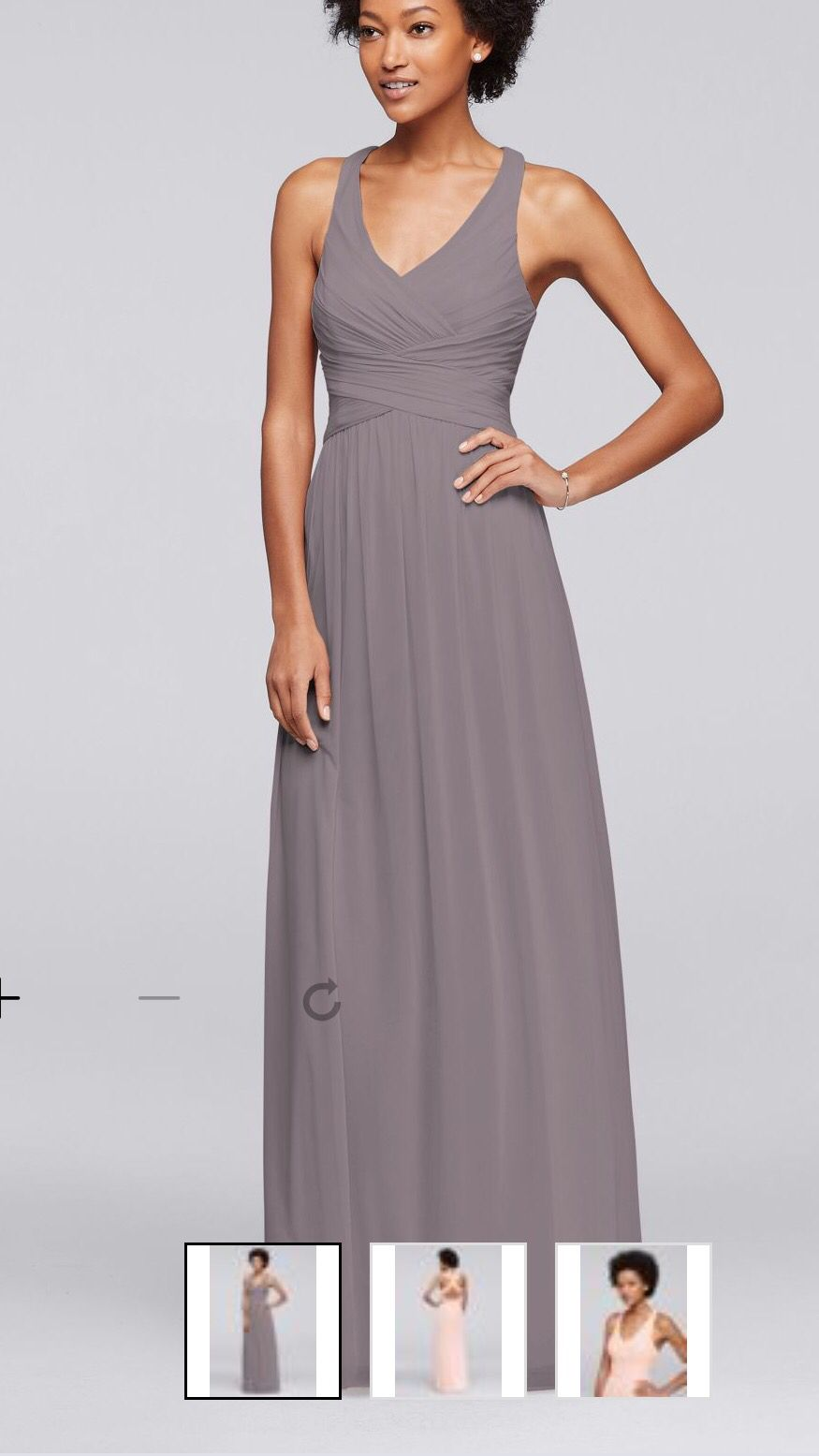 26253bf4f2 Portobello David s Bridal Bridesmaid dress. For Bridesmaids. And petal for  Maids of Honor