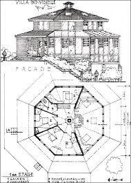 plan de maison octogonale