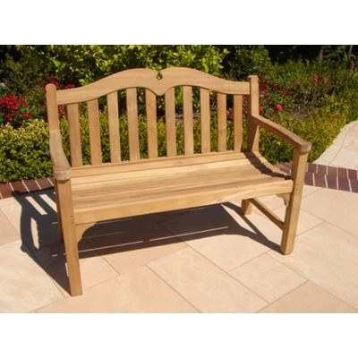 Royal Teak Teakwood Regent 4' Bench
