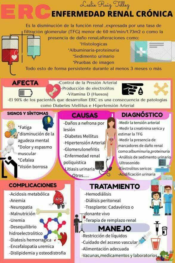 Insuficiencia renal crónica | Salud | Pinterest | Insuficiencia ...