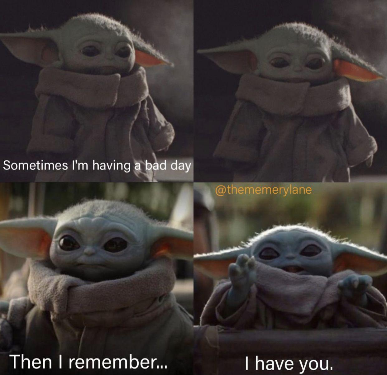 Pin By L Pezan On Baby Yoda Yoda Funny Funny Star Wars Memes Yoda Meme