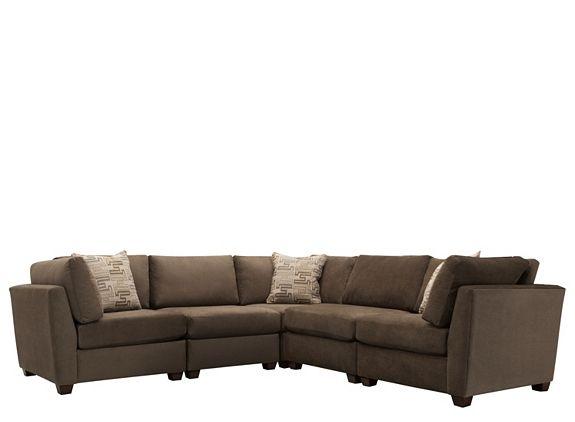 Microfiber Modular   Sectional Sofas   Raymour And Flanigan Furniture
