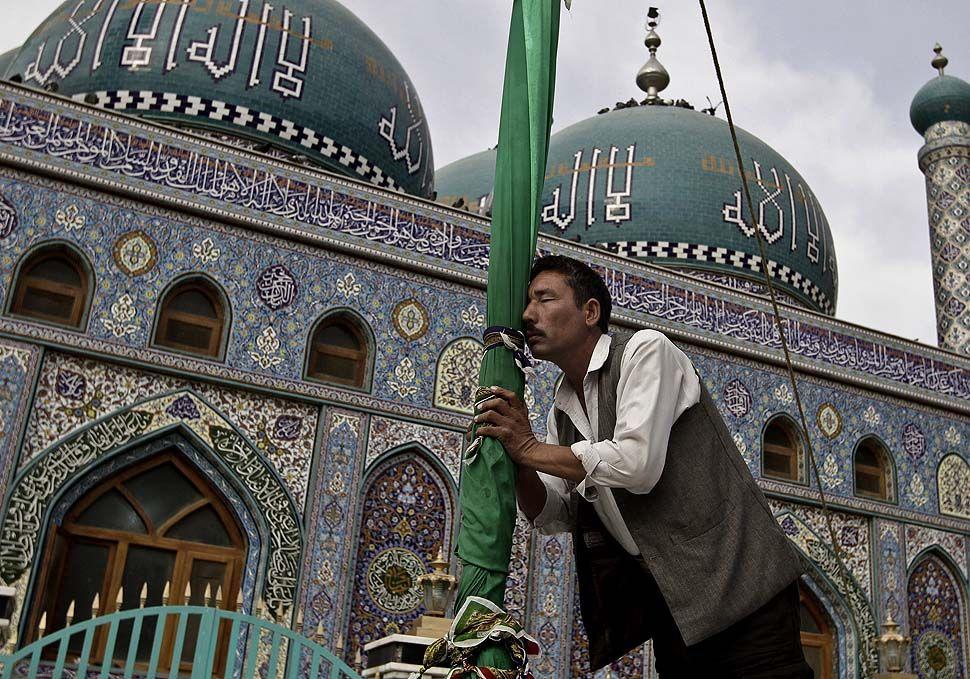 shrine in Kabul, Afghanistan.