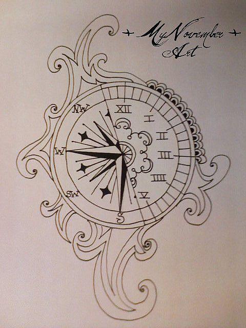 The Time Tattoos Picture Tattoos Clock Tattoo Design Tattoo