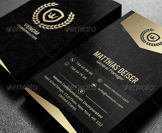 Free Business Card Template Photoshop And Illustrator Download