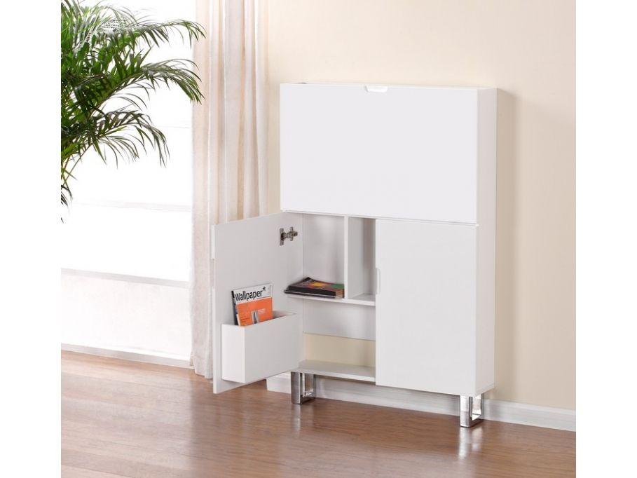 Sekretär Hochglanz Tristan - Weiß günstig kaufen | Möbel Online-Shop Kauf-Unique.de
